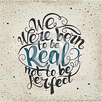 born to be real quote